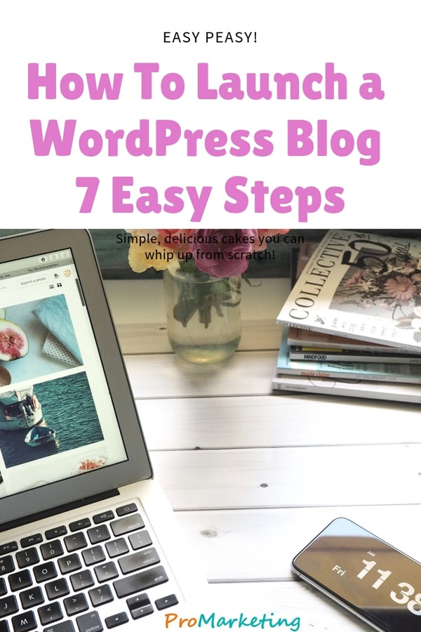 How to a launch WordPress blog easily