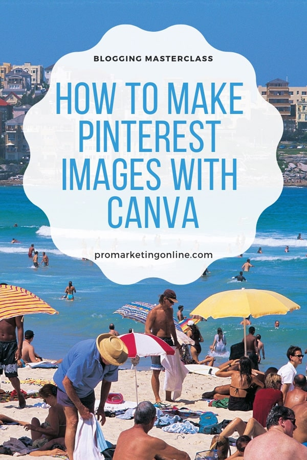 How to make Pinterest images that get the readers attention to pin it