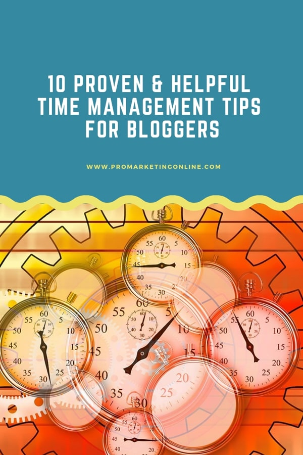 Useful time management tips
