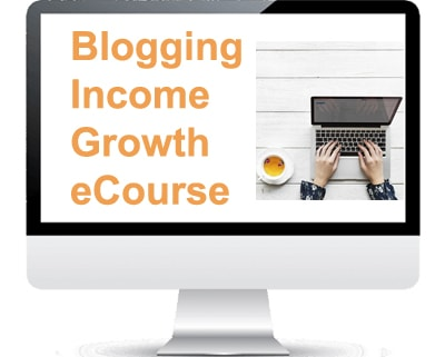 Blogging income growth ecourse