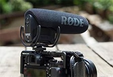 Rode Pro microphone for vloggers